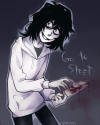 The appealing smell of blood |Jeff The Killer| by 0ktavian