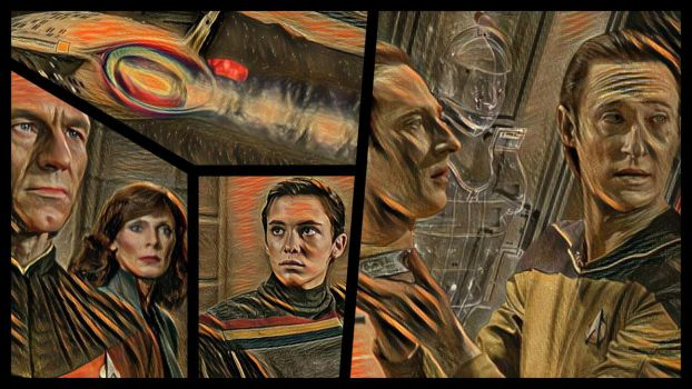 Star Trek TNG: 'Datalore' by JonBromLE1 by jonbromle1