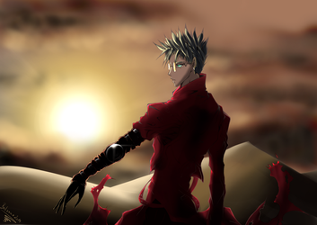 Trigun Fanart - Vash the Stampede by balvana