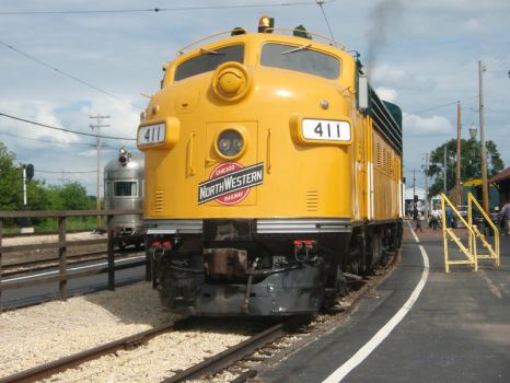 CNW 411 at IRM by JamesT4