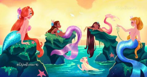 Mermaid Pod by DylanBonner