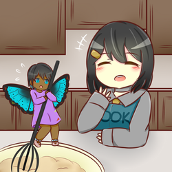 Making Cookie Dough by Sparkheart1