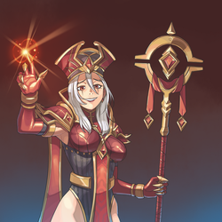 Clemency of Whitemane (not translation) by iggler