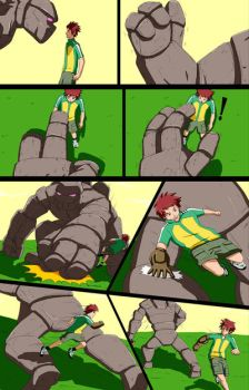 Mike into Golem TF Comic page 5 by whiteguardian