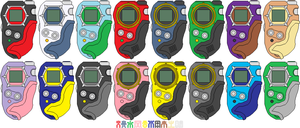 Digimon Frontier D-Tector Digivices by CWK34