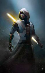 Jedi knight by dimitroncio