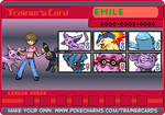 Chuggaaconroy Pokemon Coloseum Trainer Card by PigmaskMajor120