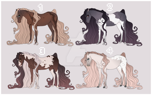 Horse Adoptables - (0/4) CLOSED by GlitchedPanda