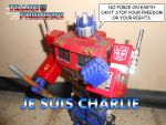 The Transformers - Je Suis Charlie by SturmvogelPrime