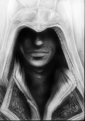 Ezio Auditore Assassin's Creed by Yankeestyle94