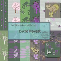 Cute forest by libidules