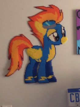 Spitfire Perler by SabretoothCreations
