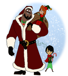 St. Nicholance and His Elves by Lokotei