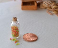 Gummy Worms 1:12 Scale by TheMiniatureBazaar