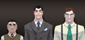Victor, Roger and Adrian by theCHAMBA