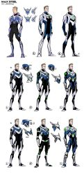 MAX STEEL Concepts by JeffStokely