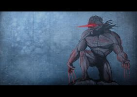 Weapon x by RedUnitInk