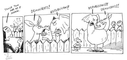 the Illusion of Partisan Politics by theintrovert