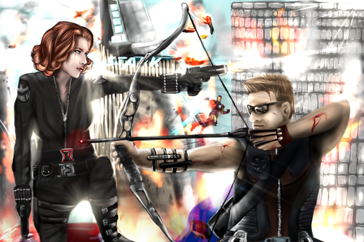 A couple of Master Assasins by AgentWhiteHawk