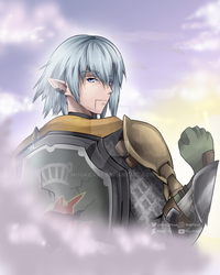 Final Fantasy XIV: Haurchefant (with video!) by MissKilvas