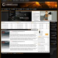 Concept Gaming by tondowebmedia