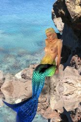 Mermaid attempt 2 by Shawn-Saylor