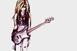 51: The Bassist by Akanetto