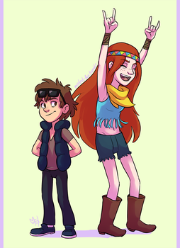 hipsters by Mistrel-Fox