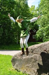 Link Cosplay II (Desucon 2015) by SilverCeleb