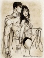 SM-WW : Love in the new 52 by Mami02