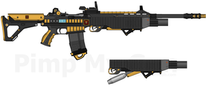 TI HABR-295 'Pantheris' Heavy Assault Battle Rifle by Lord-DracoDraconis