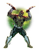 Drax The Destroyer by AlonsoEspinoza