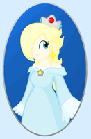 Mouse art--Rosalina in Paint by KookyShyGirl88