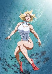 Power Girl - Under the Sea by adamantis