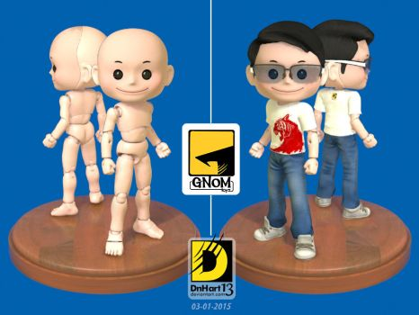 Gnom Toys Male 01 by dnhart13