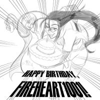 Happy B-Day, FH1001 by Project00Wolfen