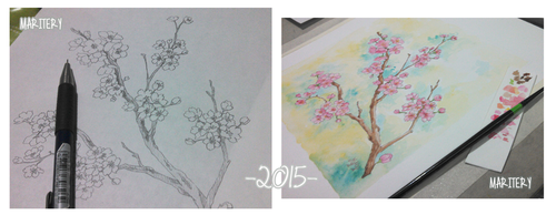 :: WIP cherry blossoms :: by maritery-san