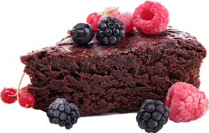 Chocolate cake 3 clipart 4400px 300dpi by EXOstock