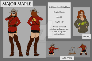 Commission: Major Maple by hyperionwitch