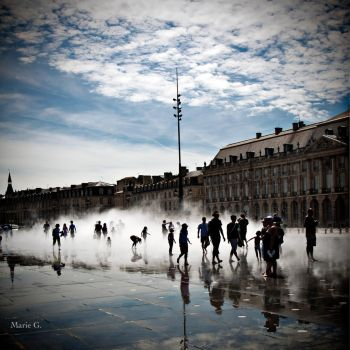 Bordeaux City by Keupsh