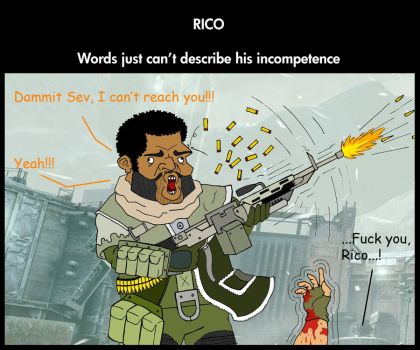 rico's incompetence by NielsDV