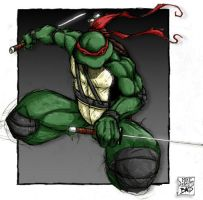 Leonardo - colors by benji138