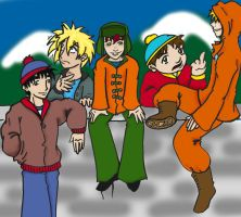 South park Group...OMG...Fini by Goldbryn