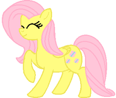 another fluttershy by EquestriaGurl77