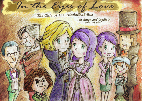 Cover - In the Eyes of Love (DB Storybook) by cutejana17