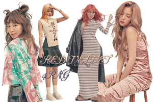 RED VELVET PNG Pack {The Celebrity} by kamjong-kai