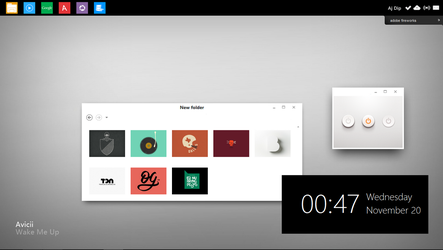 DOPE WINDOWS DESKTOP UI by ajdip