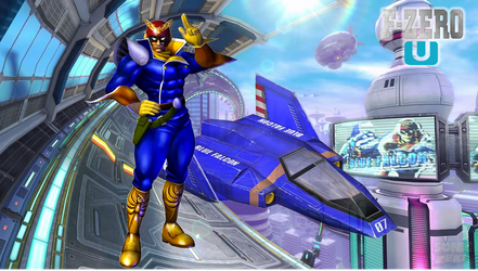 Captain Falcon F-Zero U Wallpaper by Galaxy-Afro