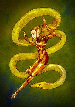 Snake Charmer by ohachi-draw