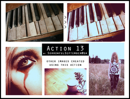 Photoshop Action 13 by SorrowfulSeptember